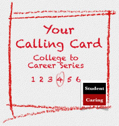Your Calling Card  |  Student Caring