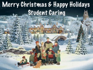 Merry Christmas & Happy Holidays from Student Caring